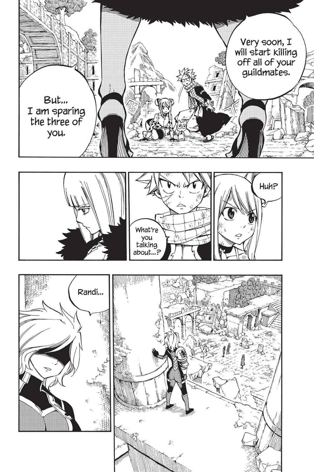 Fairy Tail Chapter 500 Page 4