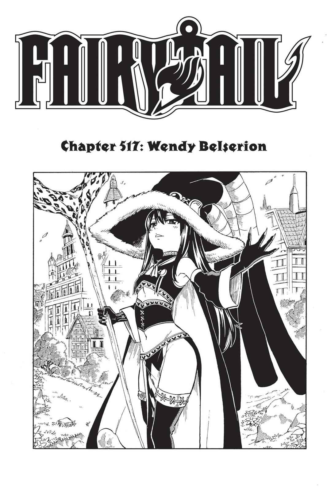 Fairy Tail Chapter 517 Page 1