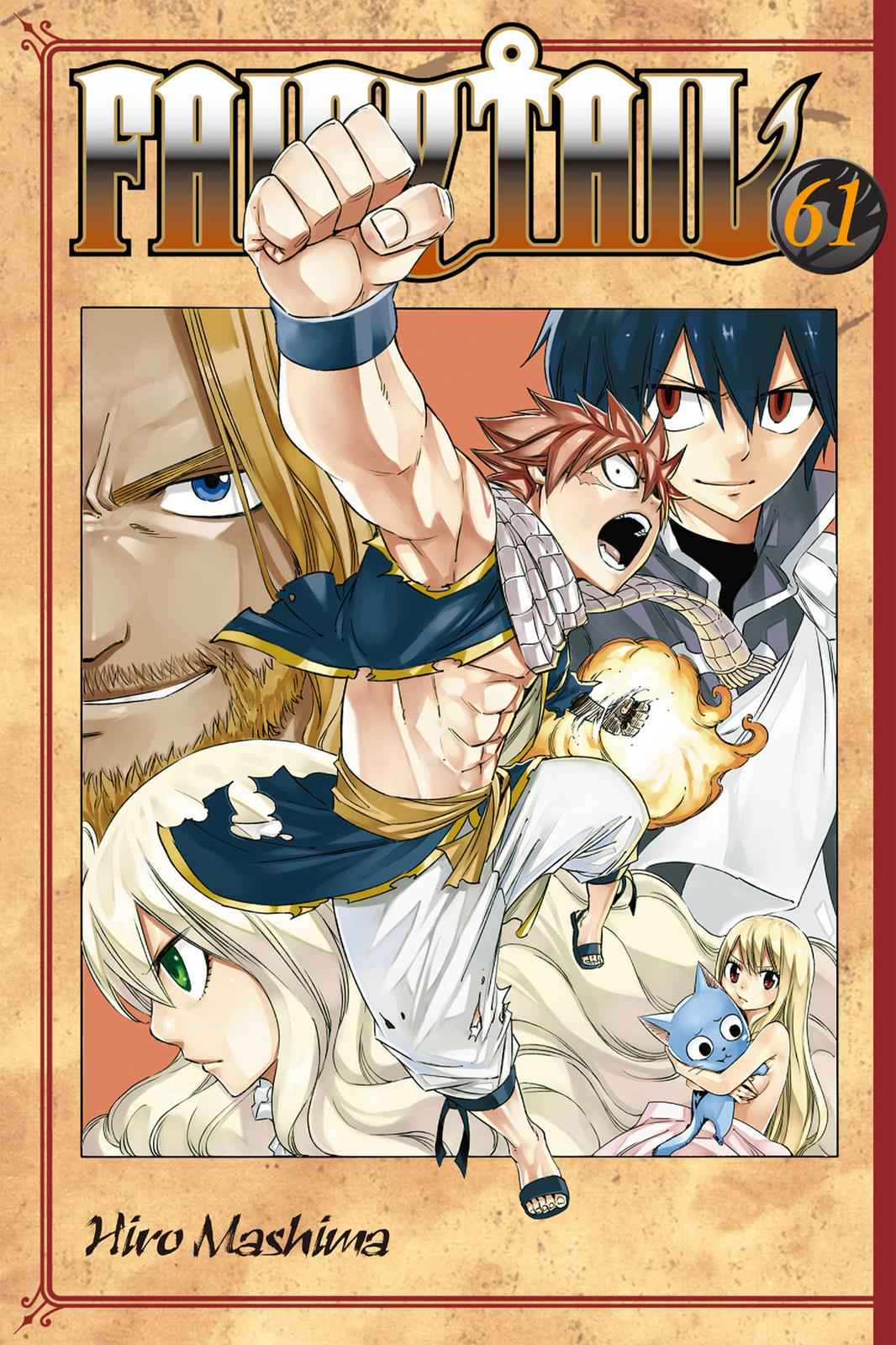 Fairy Tail Chapter 519 Page 1