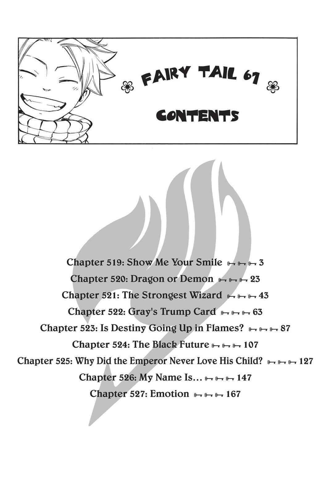 Fairy Tail Chapter 519 Page 3