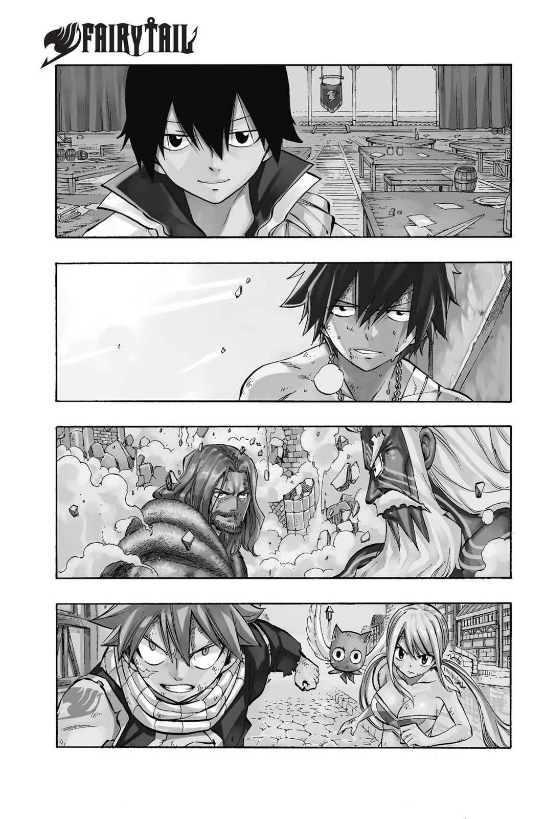 Fairy Tail Chapter 522 Page 1