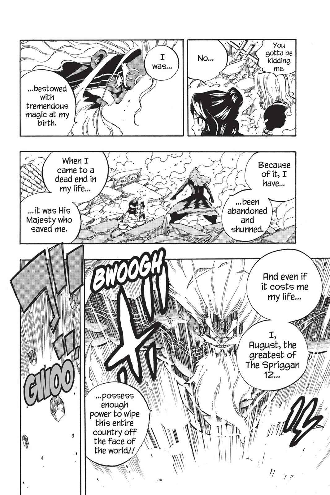 Fairy Tail Chapter 527 Page 8
