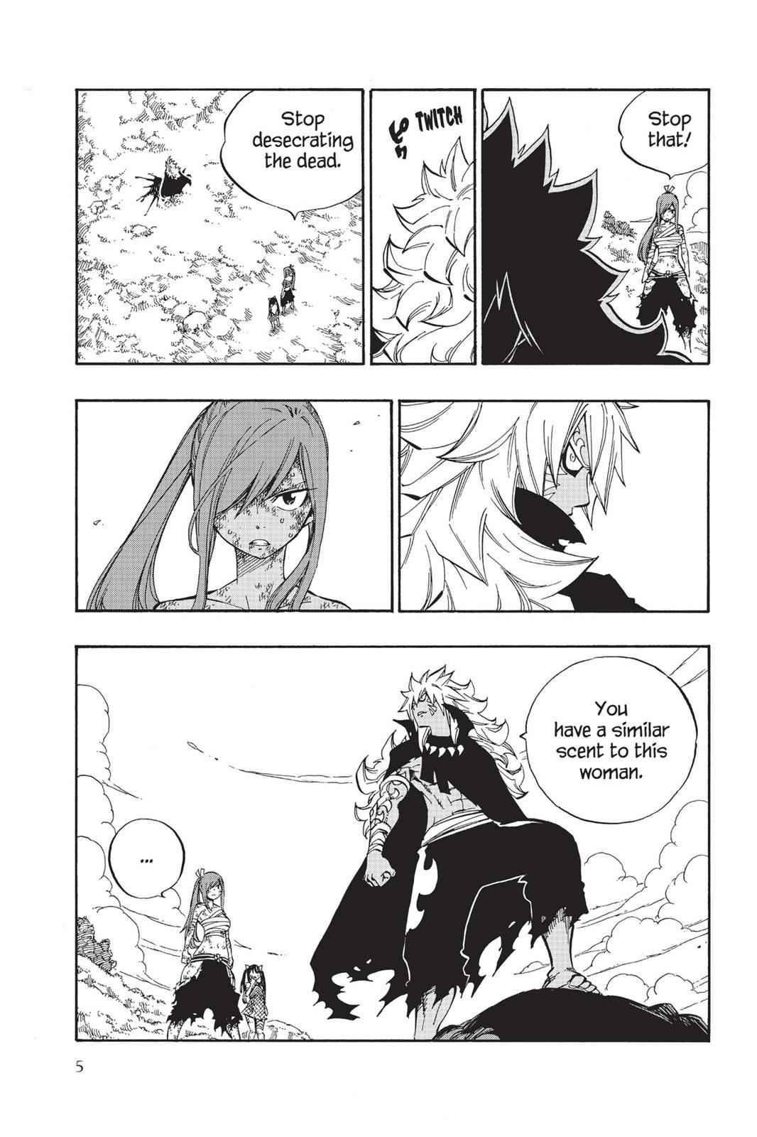 Fairy Tail Chapter 528 Page 6