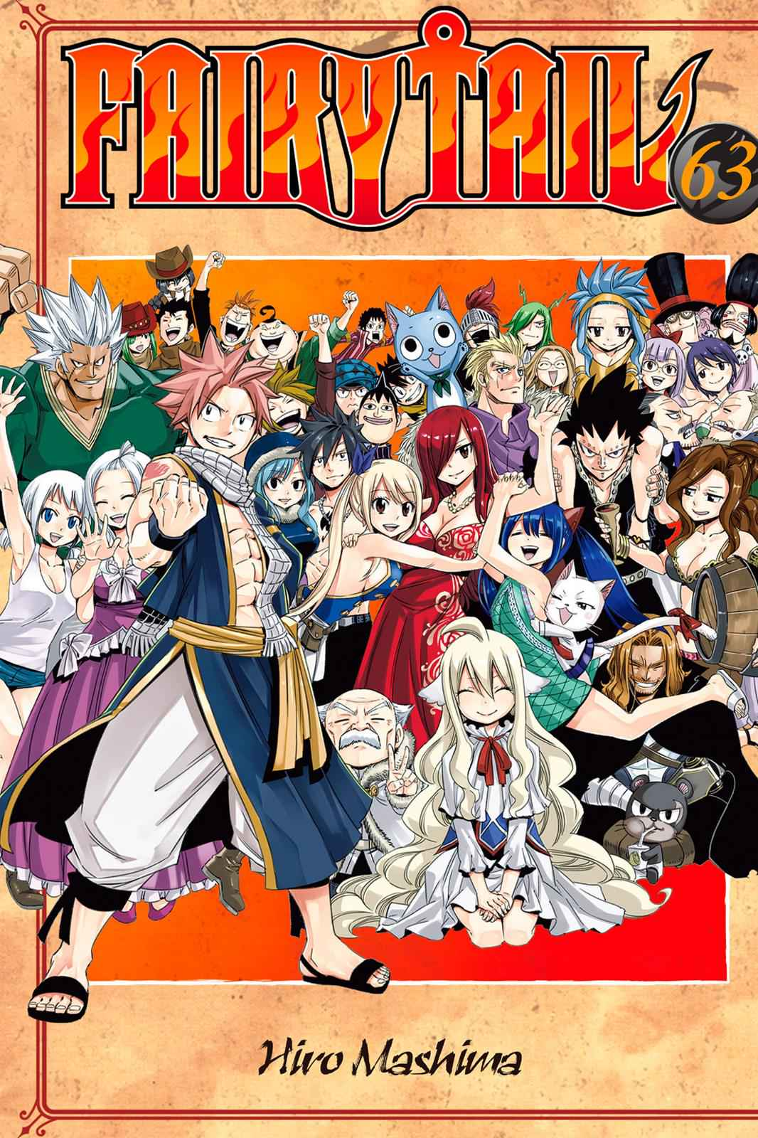 Fairy Tail Chapter 537 Page 1