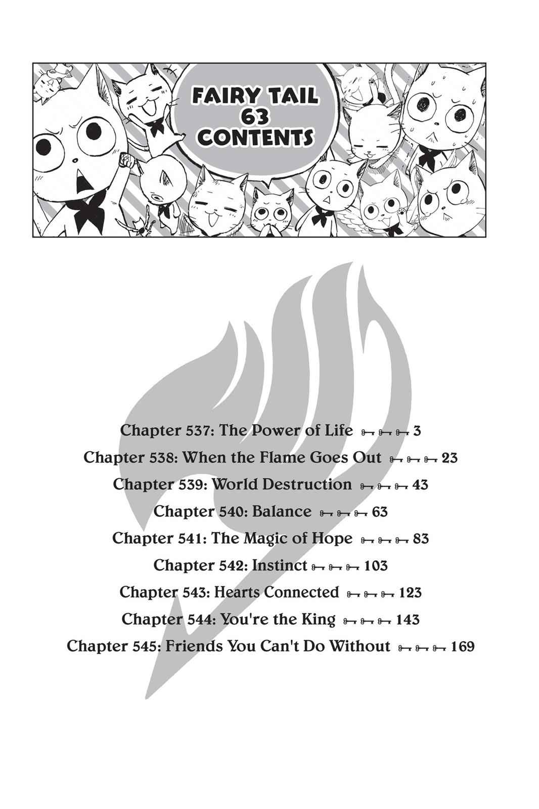 Fairy Tail Chapter 537 Page 3