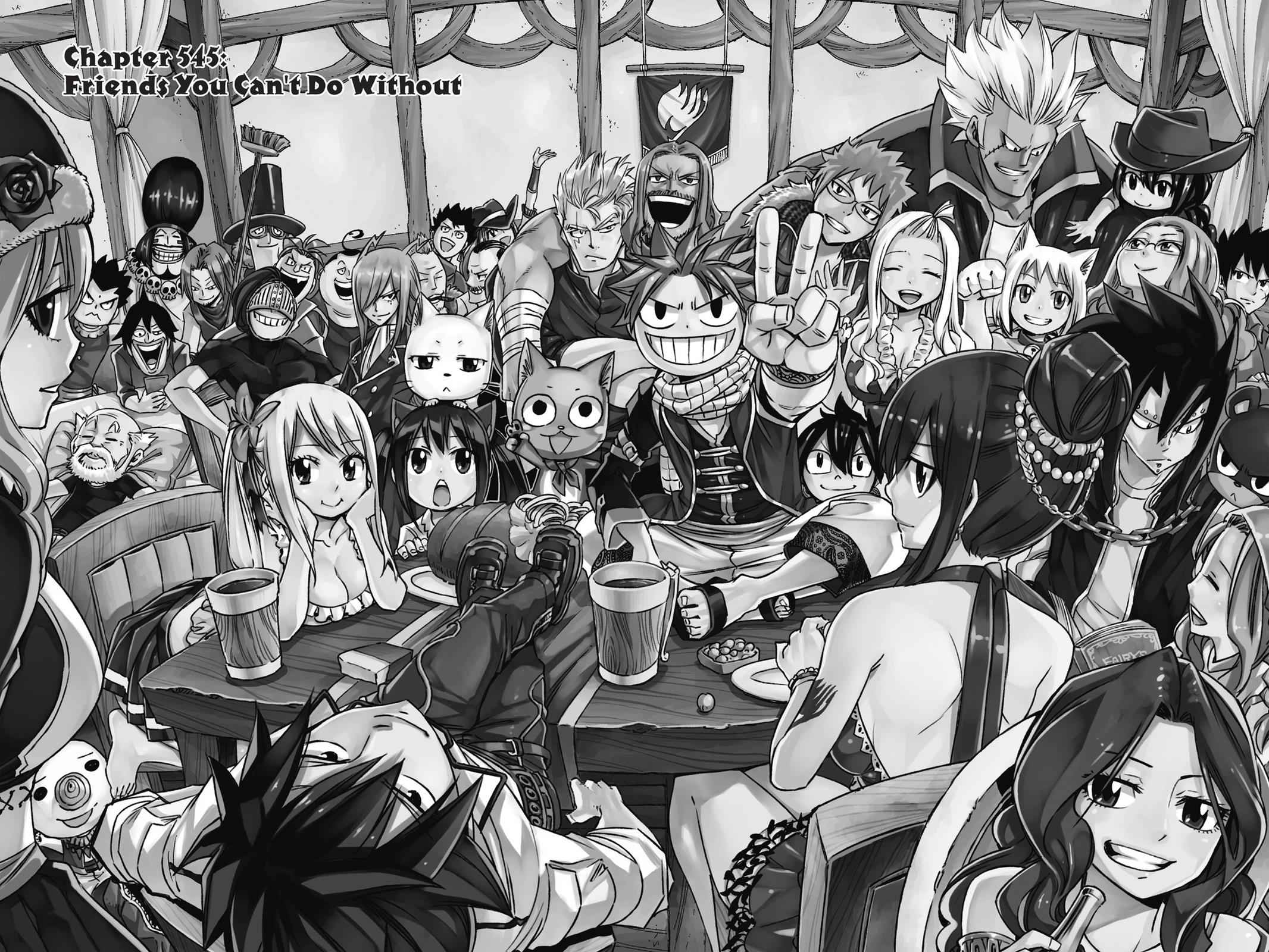 Fairy Tail Chapter 545 Page 2