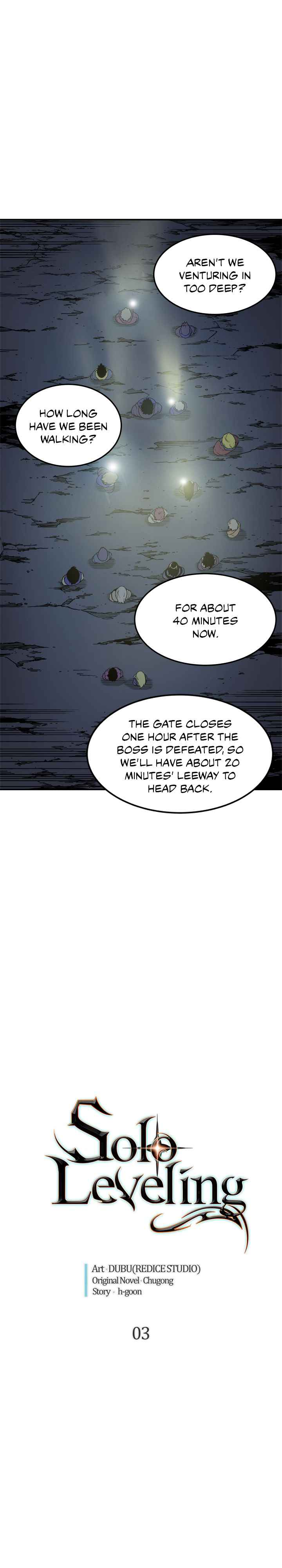 Solo Leveling Chapter 3 Page 1