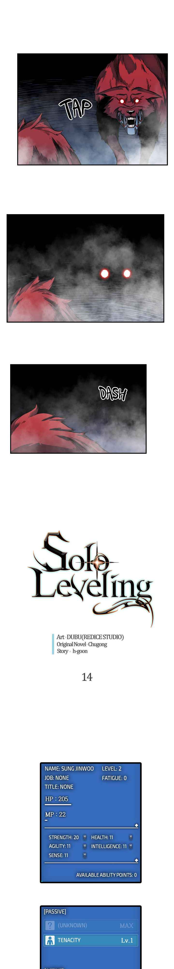 Solo Leveling Chapter 14 Page 1