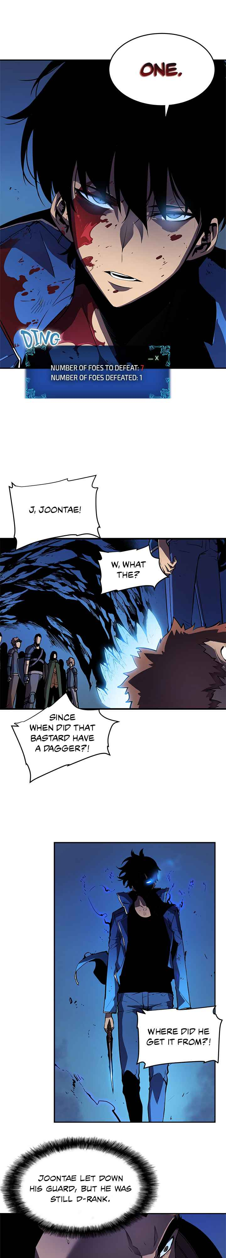Solo Leveling Chapter 24 Page 1