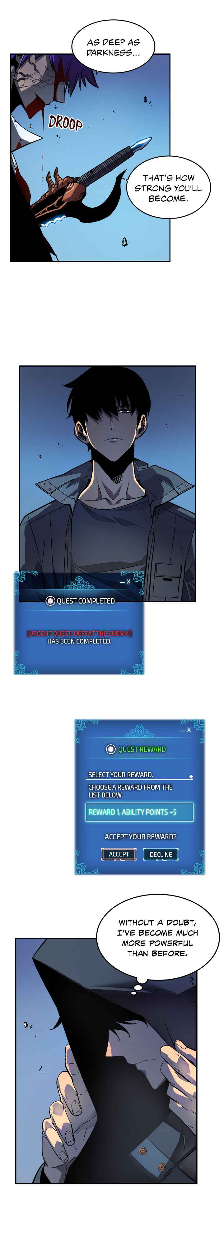 Solo Leveling Chapter 34 Page 8
