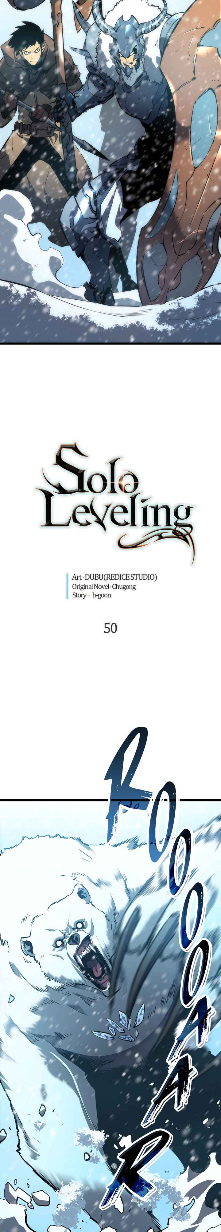Solo Leveling Chapter 50 Page 2