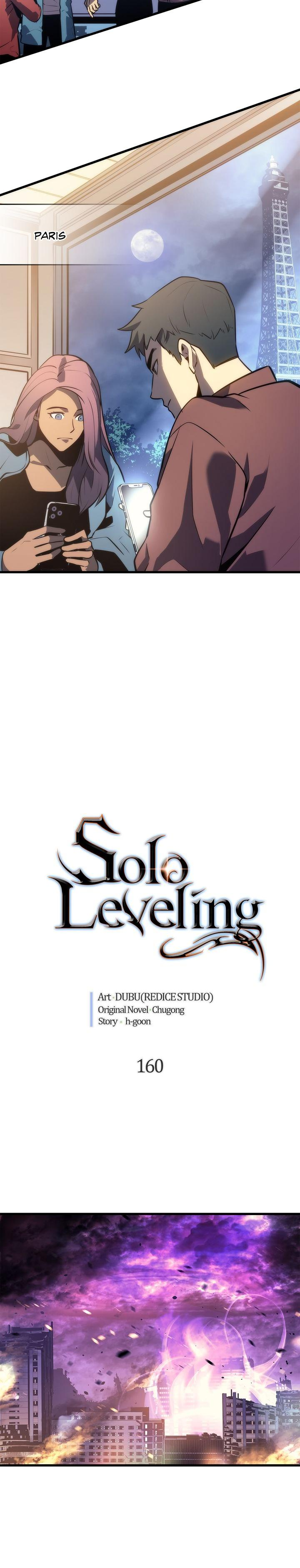 Solo Leveling Chapter 160 Page 2
