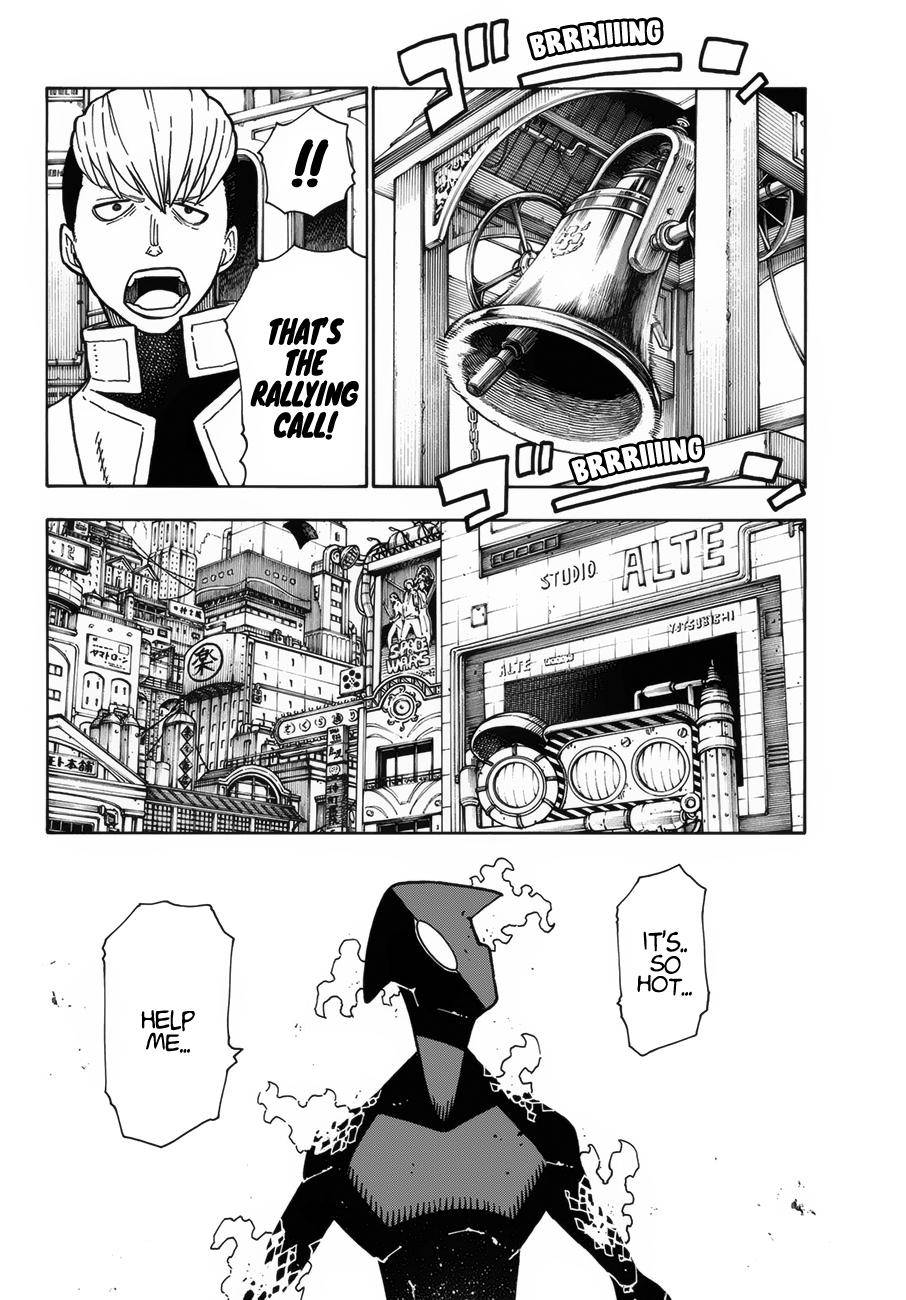 Enen no Shouboutai Chapter 222 Page 7