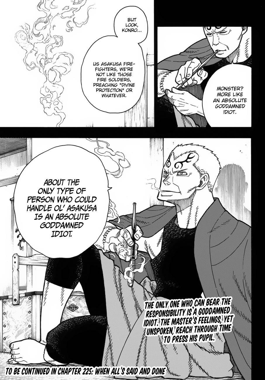 Enen no Shouboutai Chapter 225 Page 21