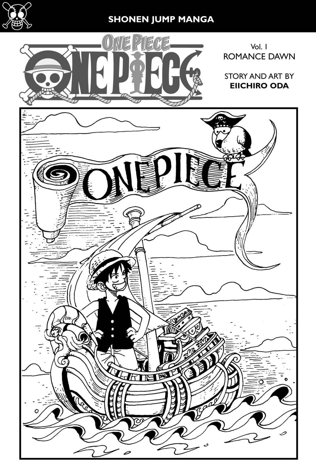 One Piece Chapter 1 Page 4