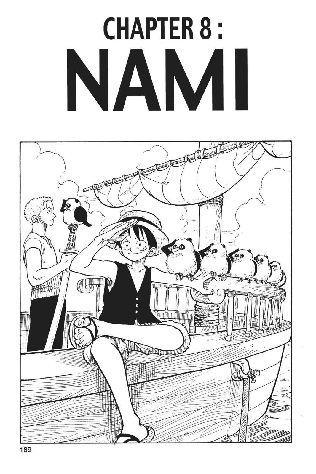 One Piece Chapter 8 Page 1
