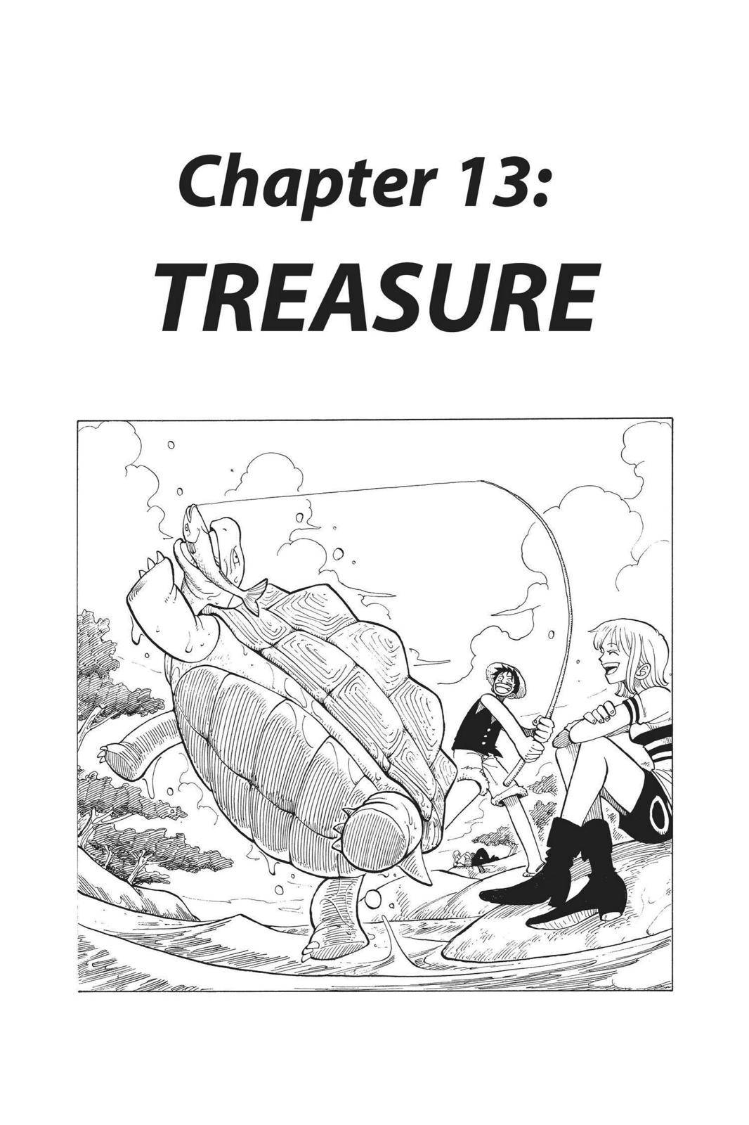 One Piece Chapter 13 Page 1