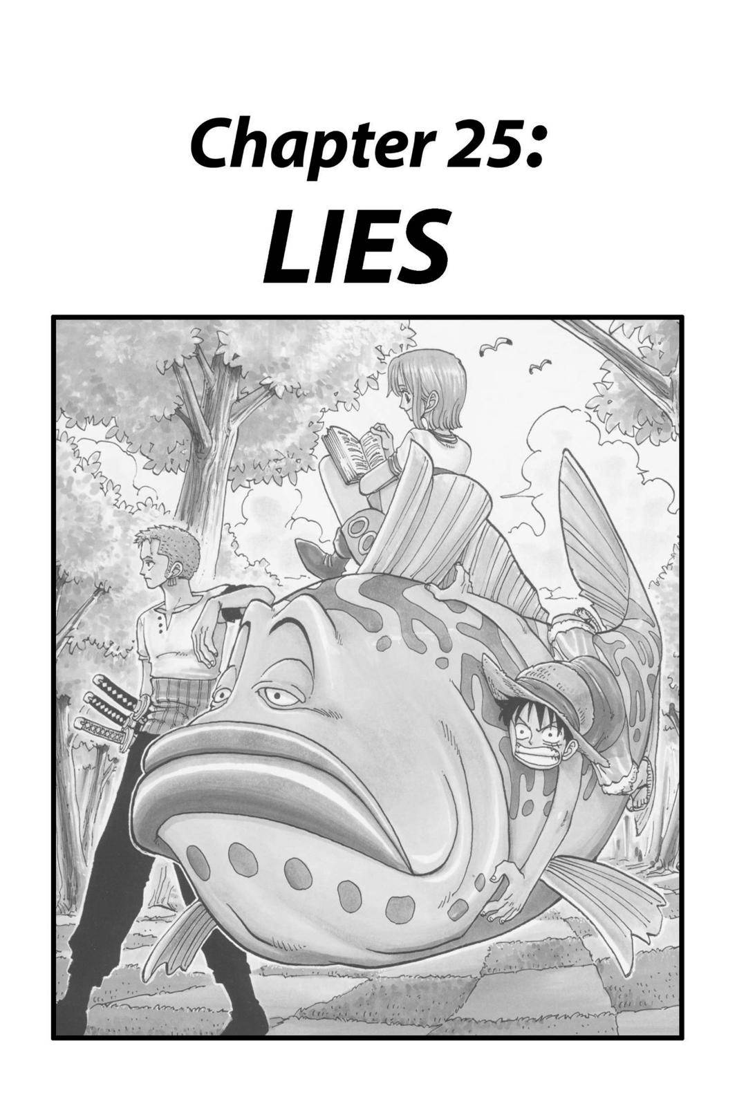 One Piece Chapter 25 Page 1
