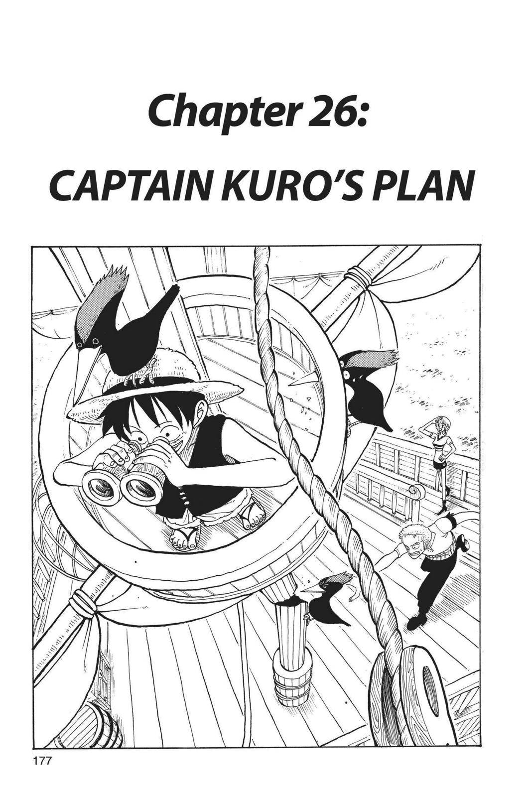 One Piece Chapter 26 Page 1