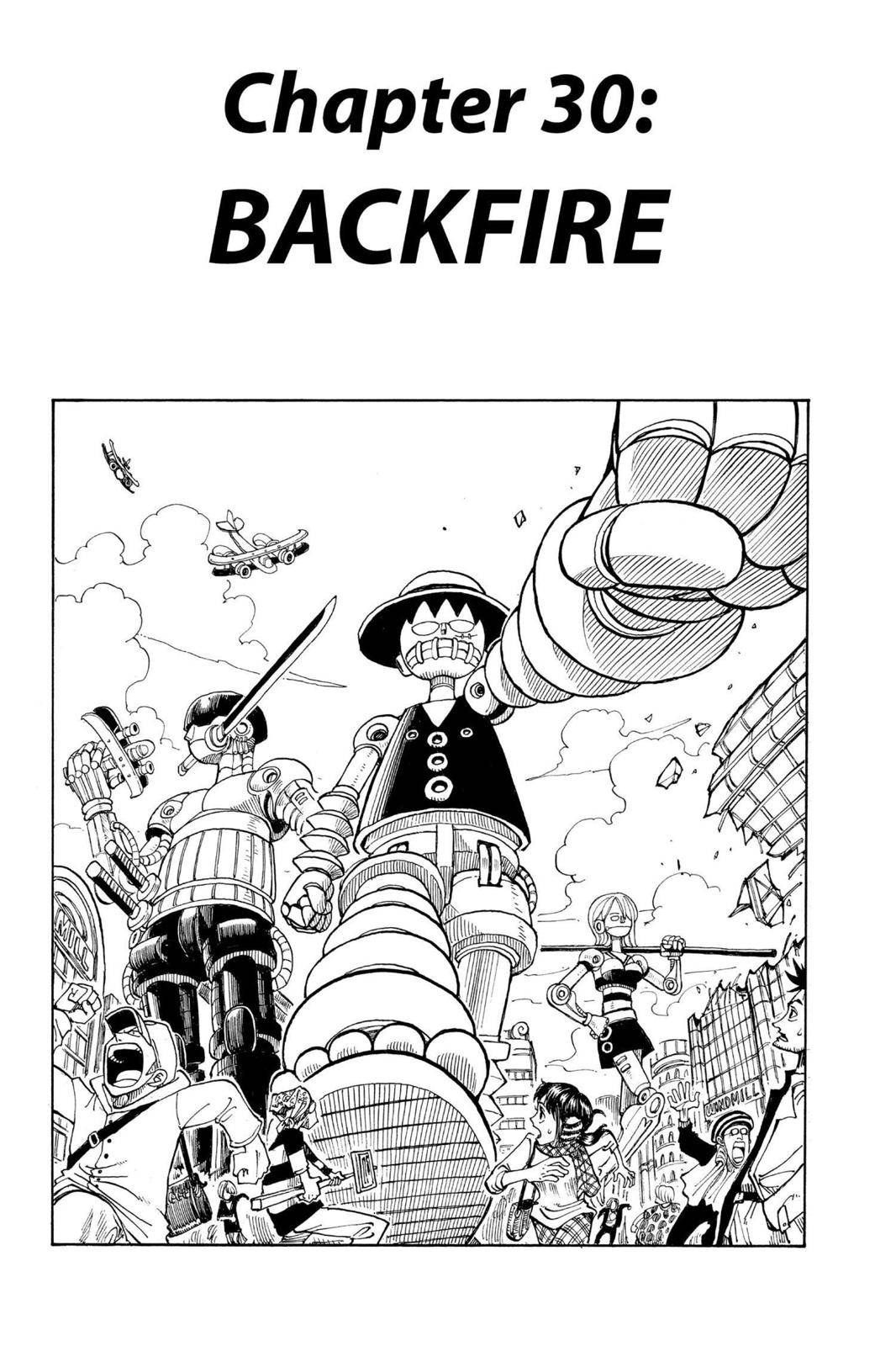 One Piece Chapter 30 Page 1