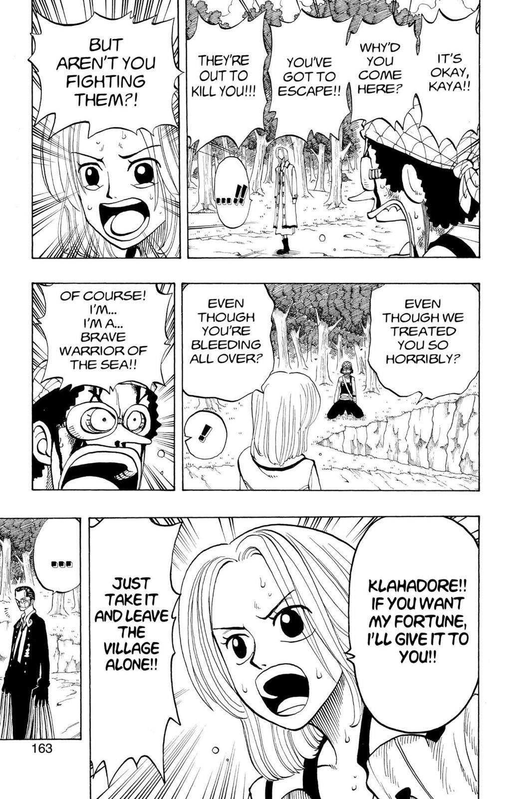 One Piece Chapter 34 Page 13