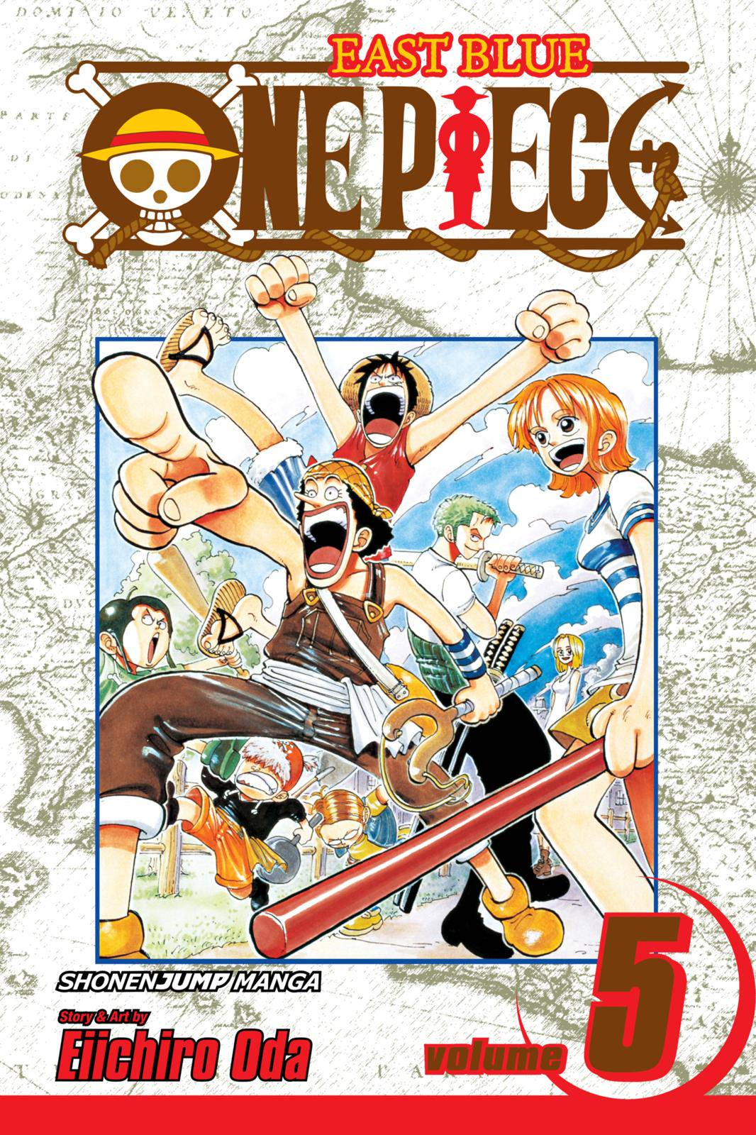 One Piece Chapter 36 Page 1