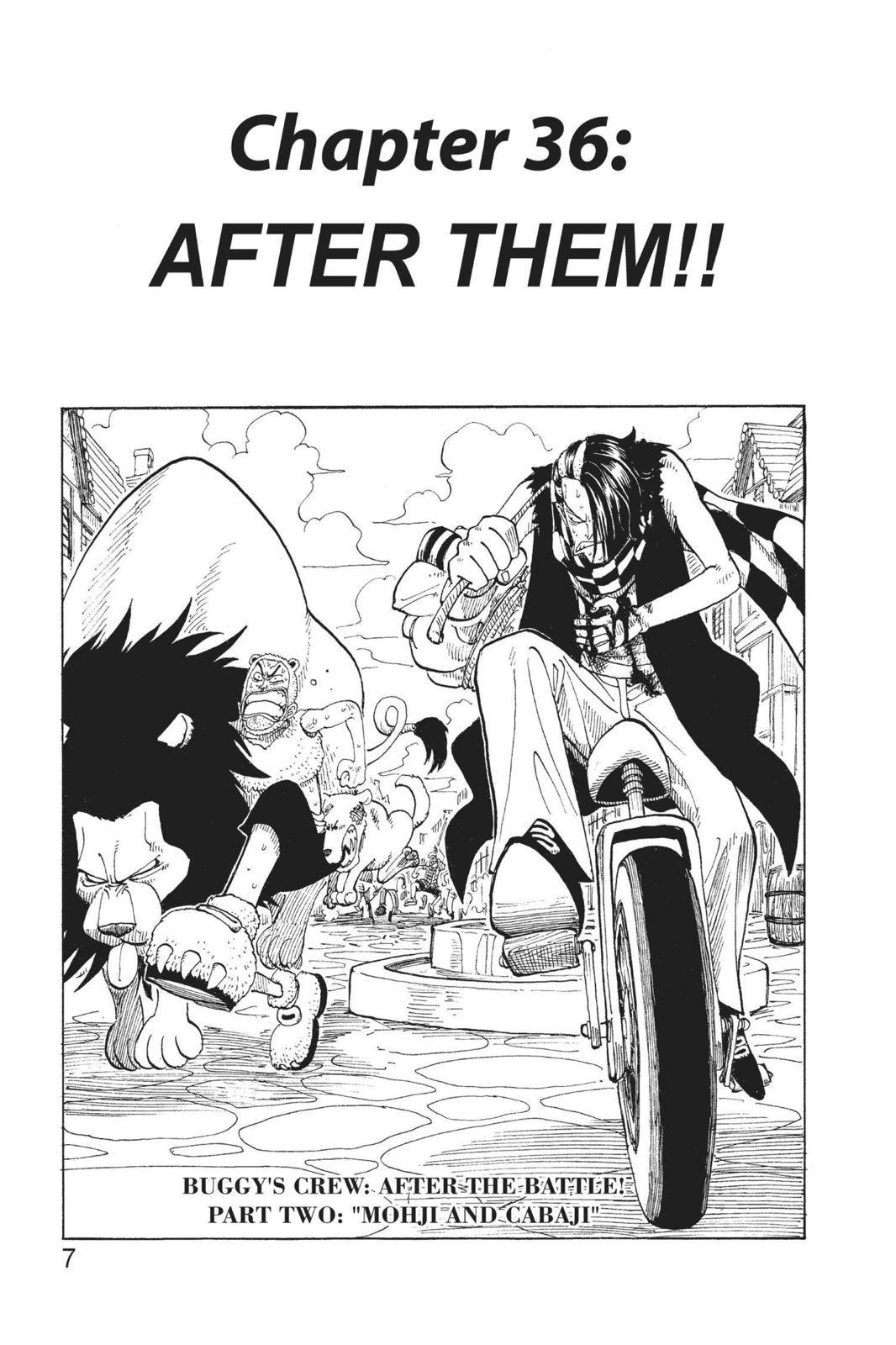 One Piece Chapter 36 Page 7