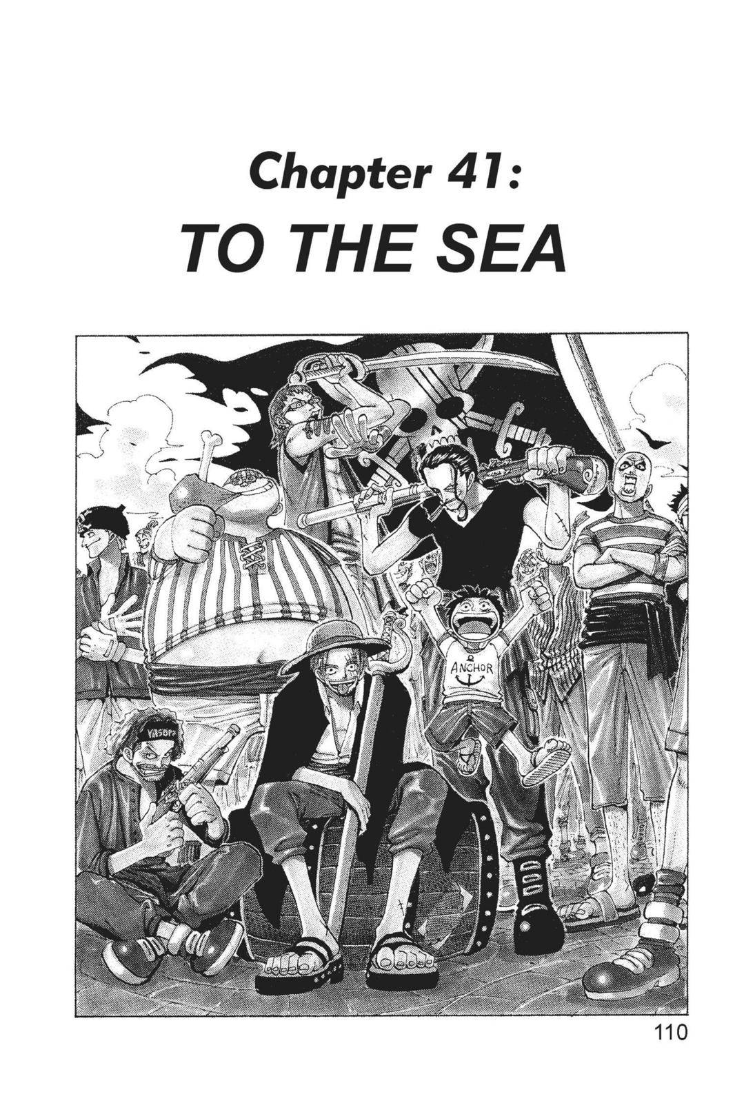 One Piece Chapter 41 Page 1