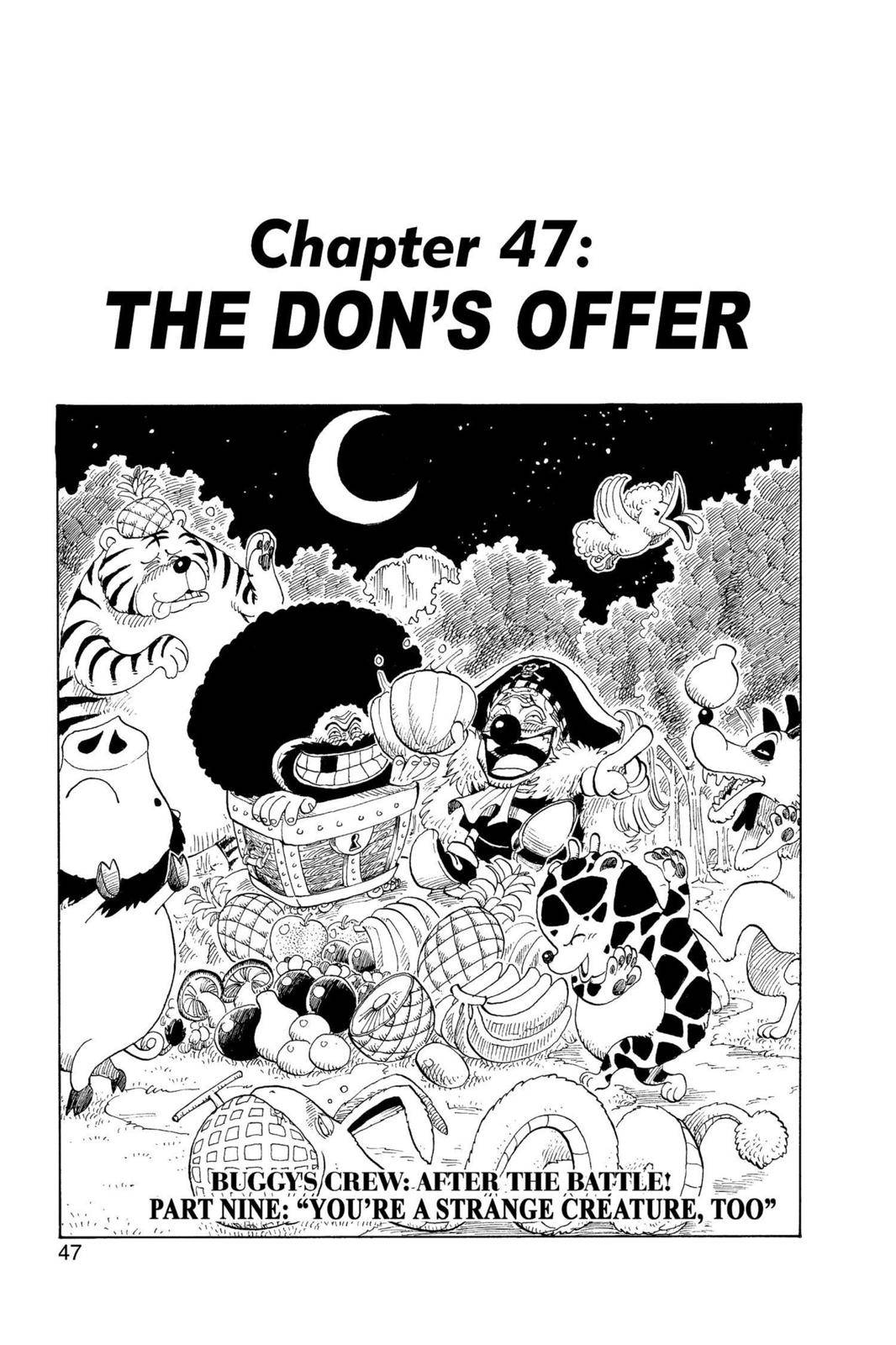One Piece Chapter 47 Page 1