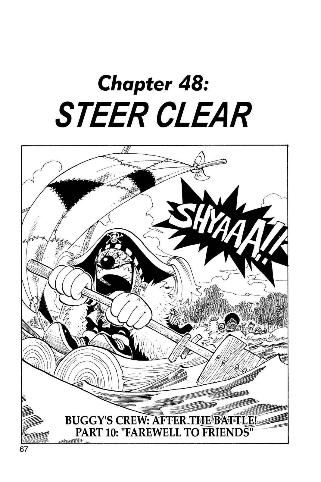 One Piece Chapter 48 Page 1