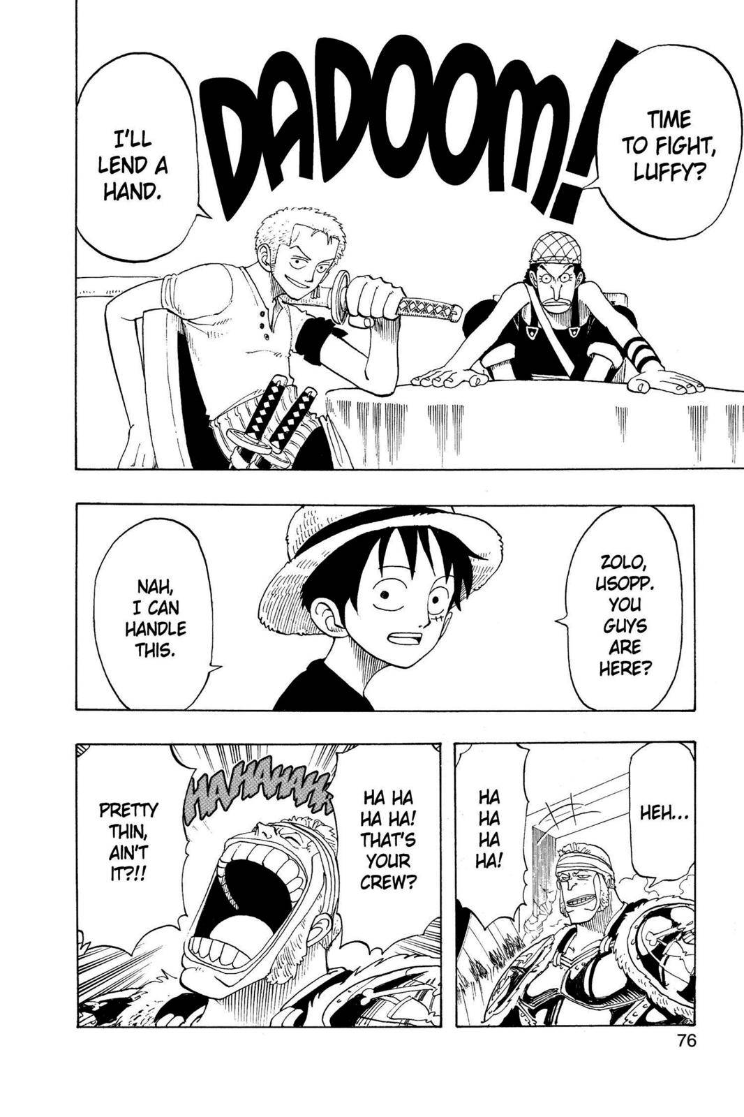 One Piece Chapter 48 Page 10