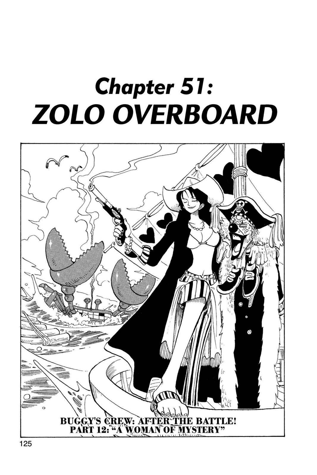 One Piece Chapter 51 Page 1