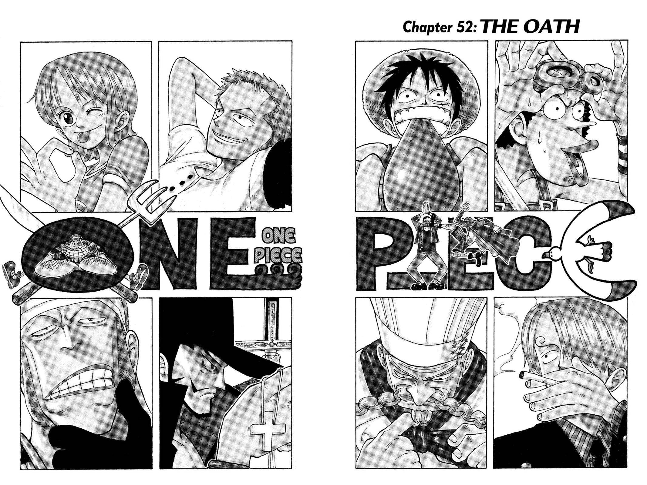 One Piece Chapter 52 Page 2