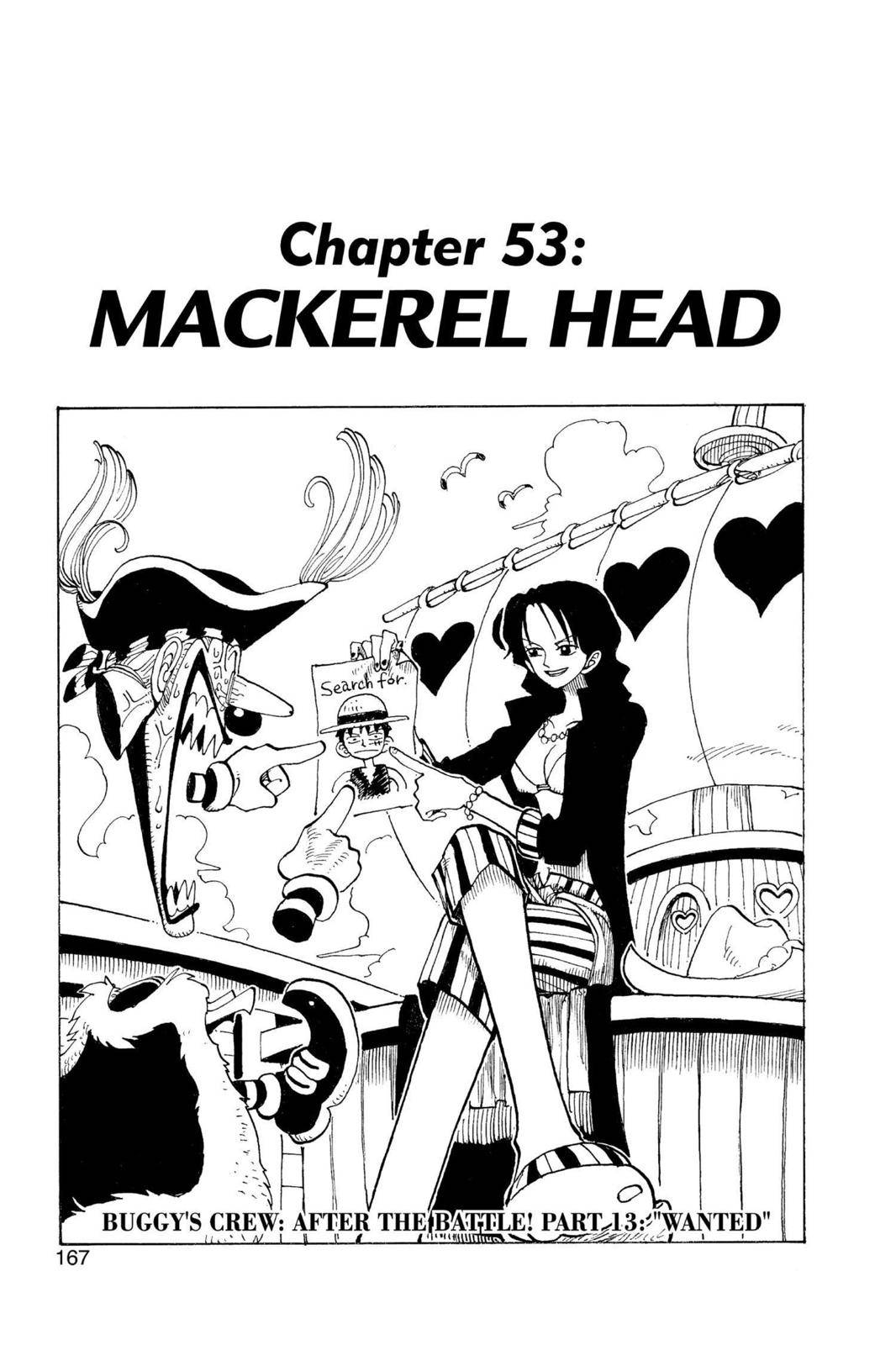 One Piece Chapter 53 Page 1