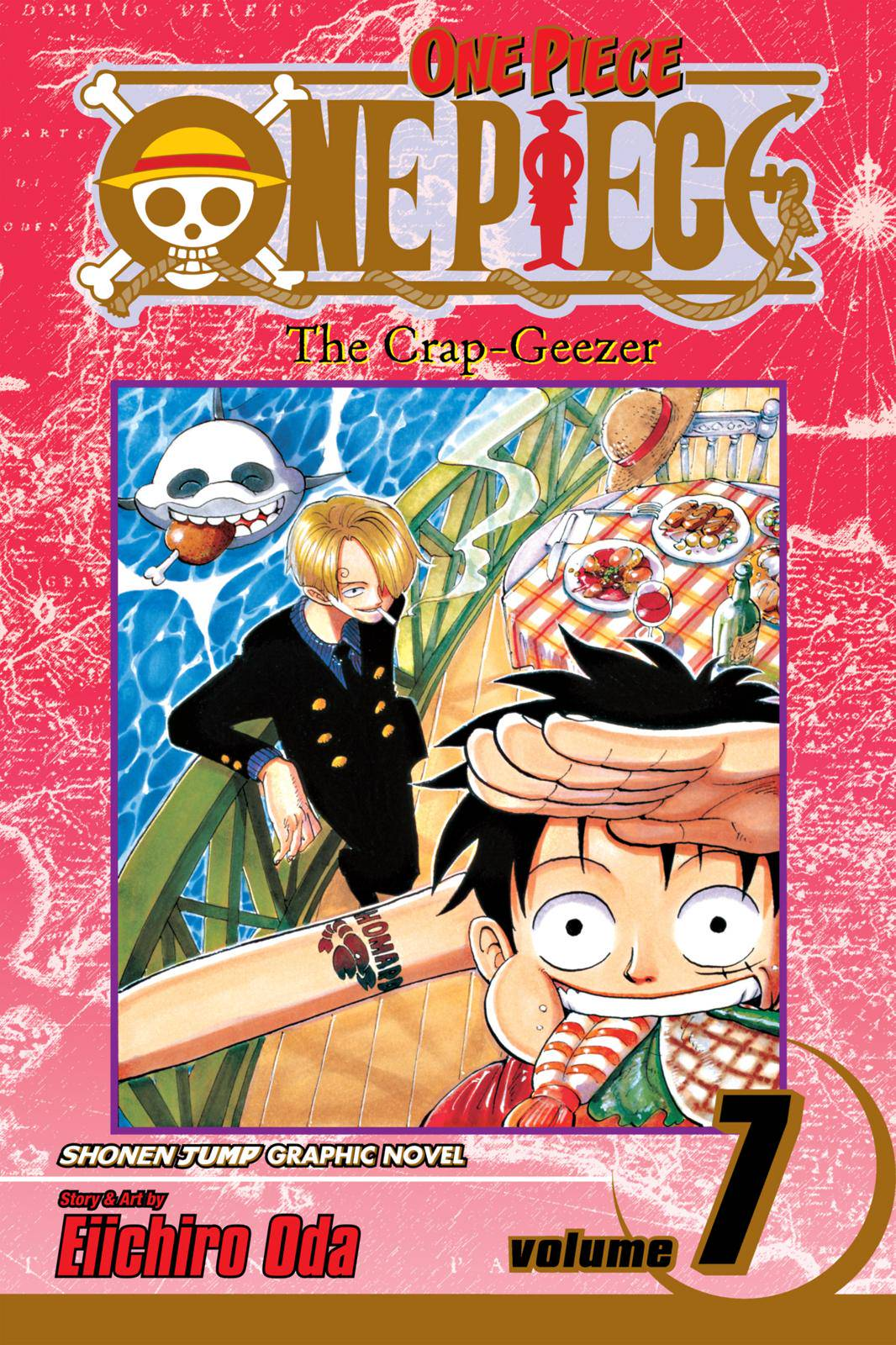 One Piece Chapter 54 Page 1