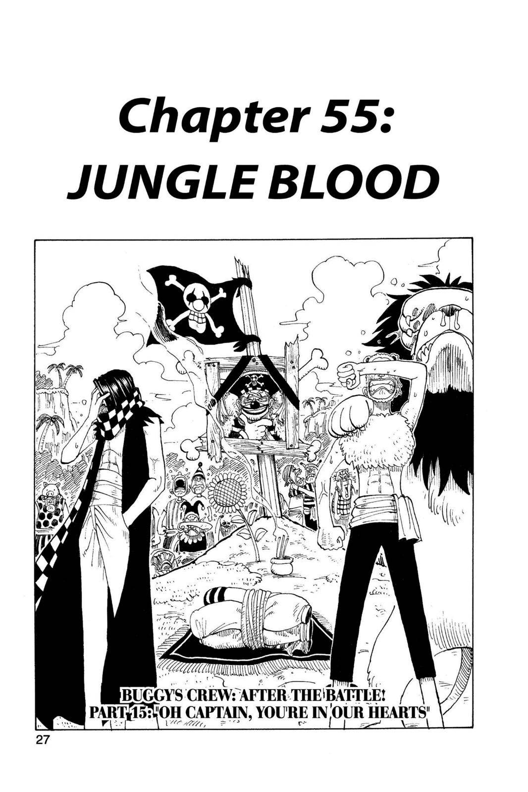 One Piece Chapter 55 Page 1