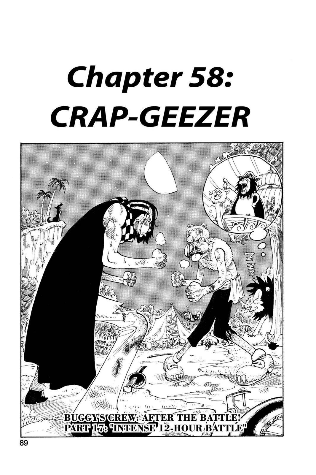 One Piece Chapter 58 Page 1