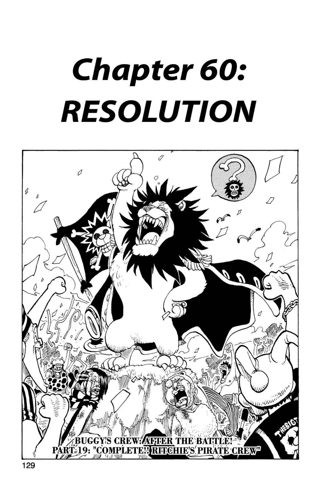 One Piece Chapter 60 Page 1