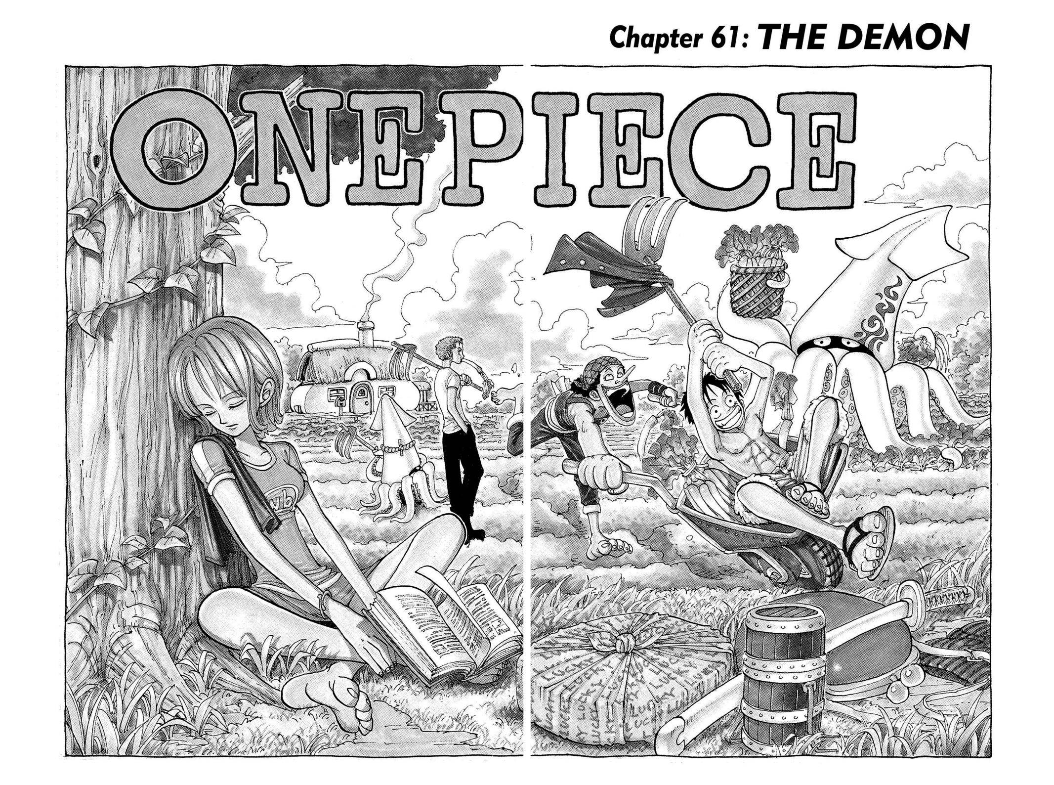 One Piece Chapter 61 Page 2