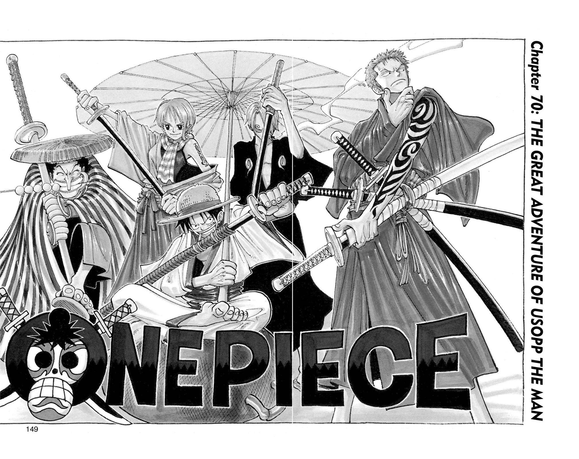 One Piece Chapter 70 Page 2