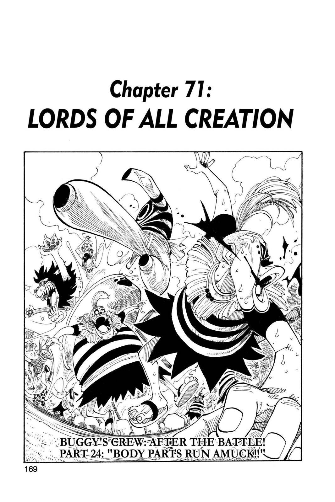 One Piece Chapter 71 Page 1