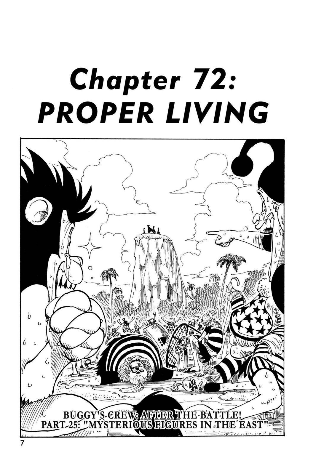 One Piece Chapter 72 Page 8
