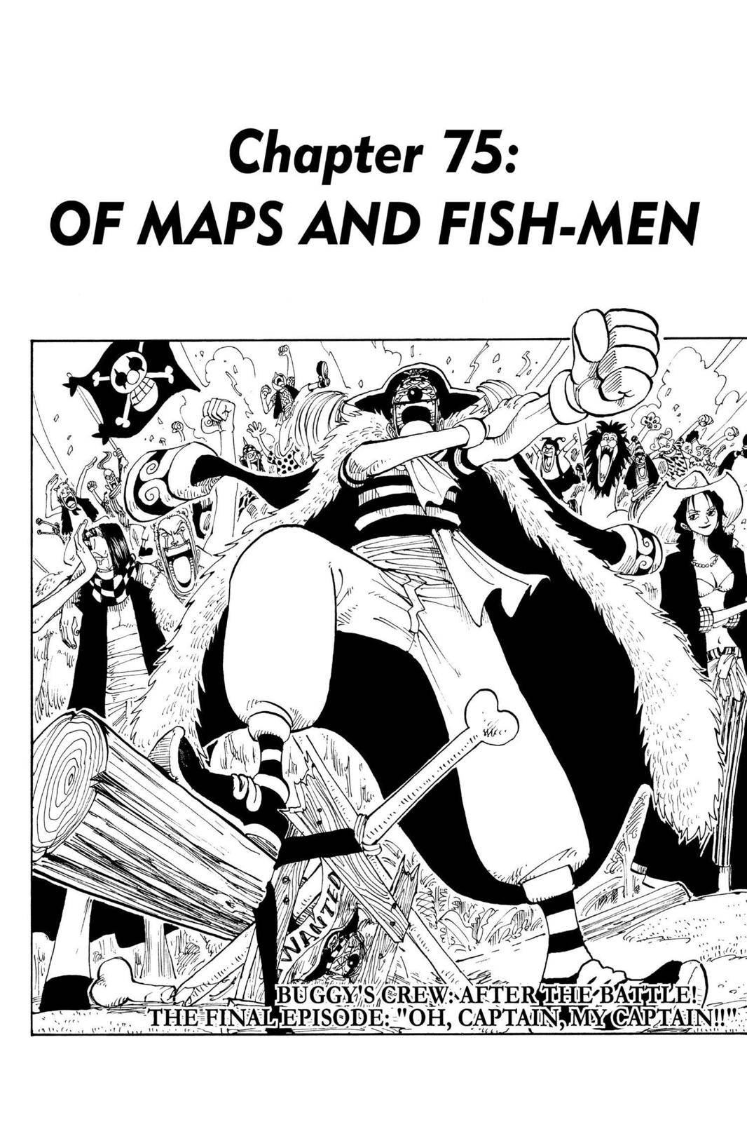 One Piece Chapter 75 Page 1