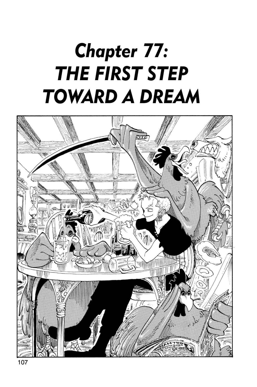 One Piece Chapter 77 Page 1