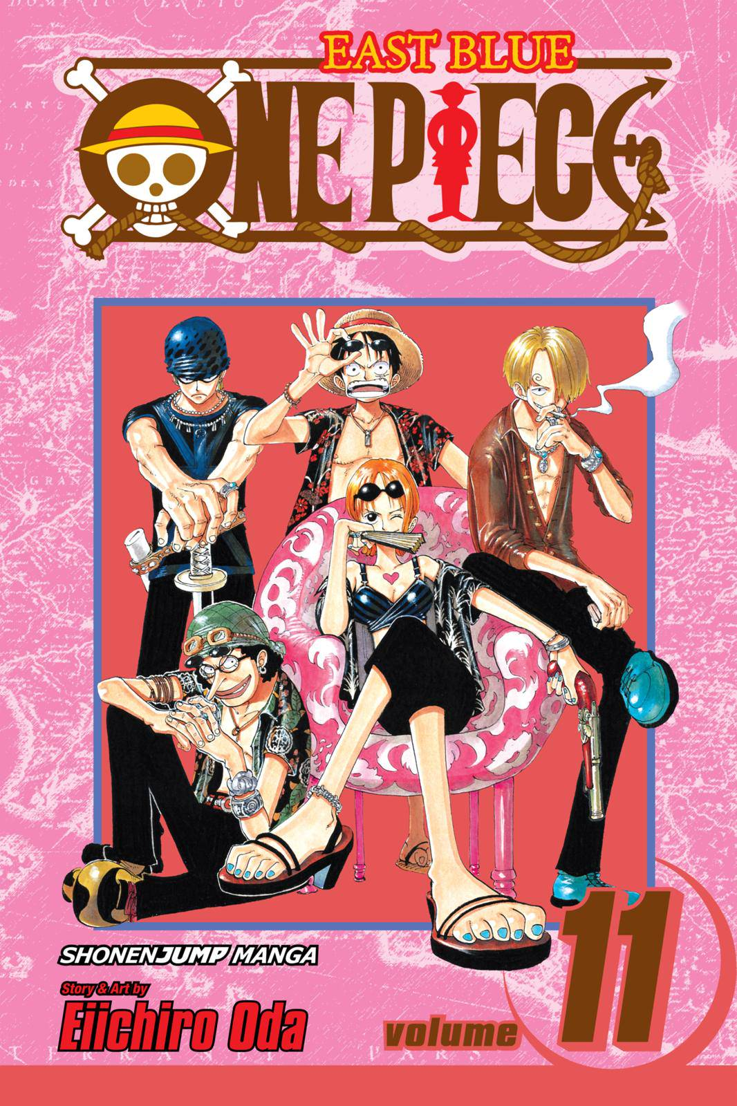 One Piece Chapter 91 Page 1