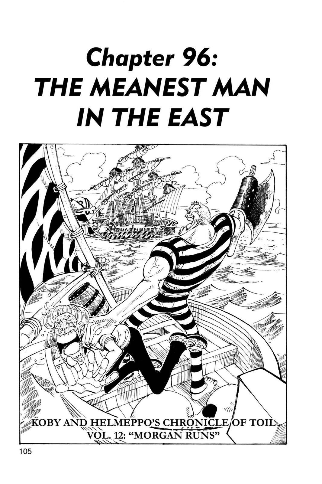 One Piece Chapter 96 Page 1