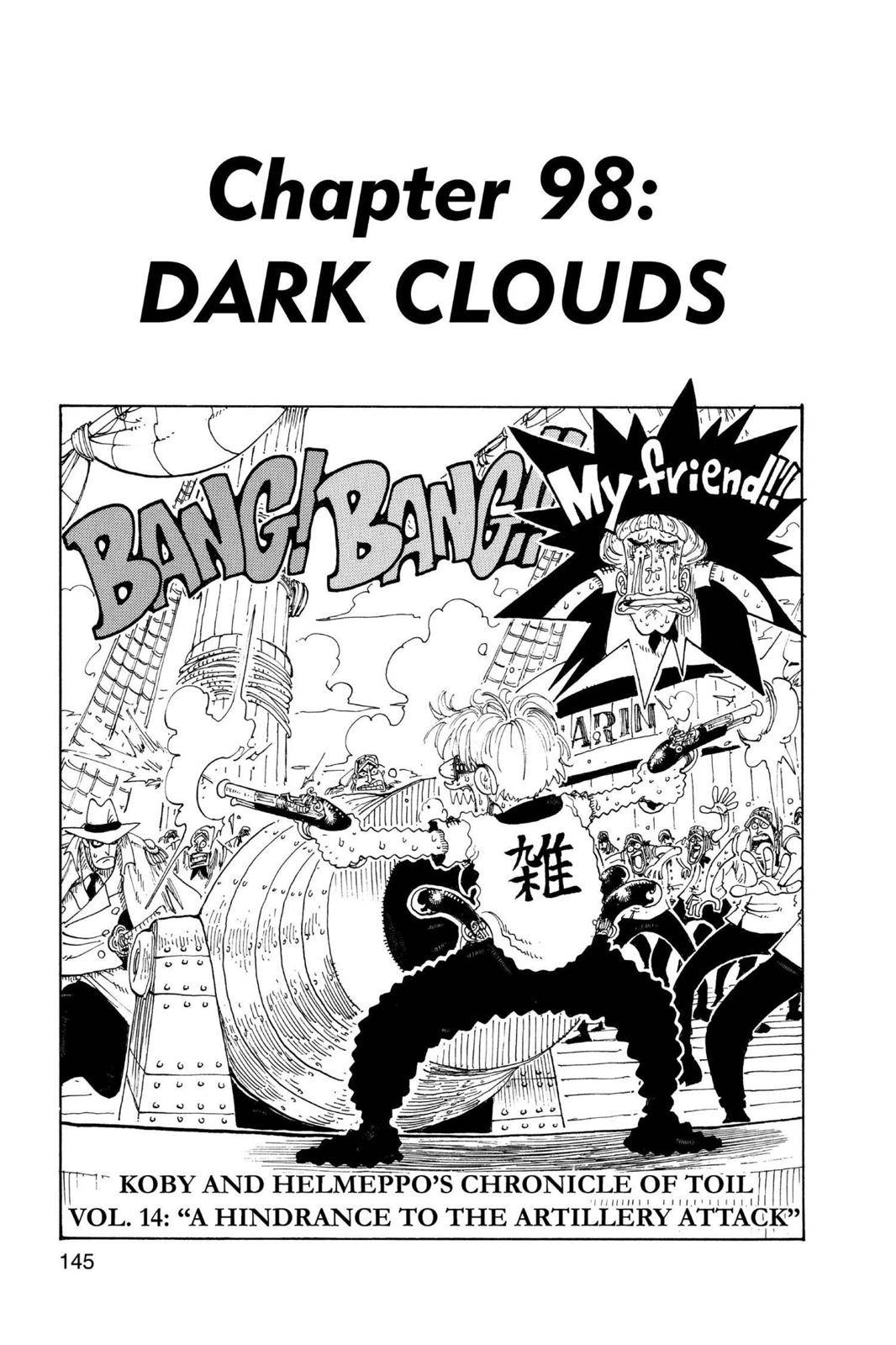 One Piece Chapter 98 Page 1