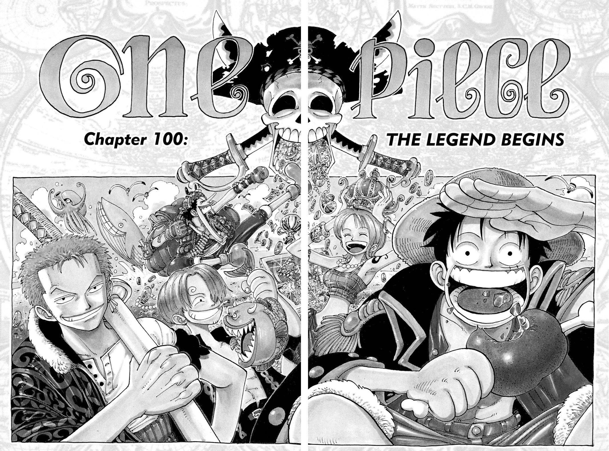 One Piece Chapter 100 Page 9