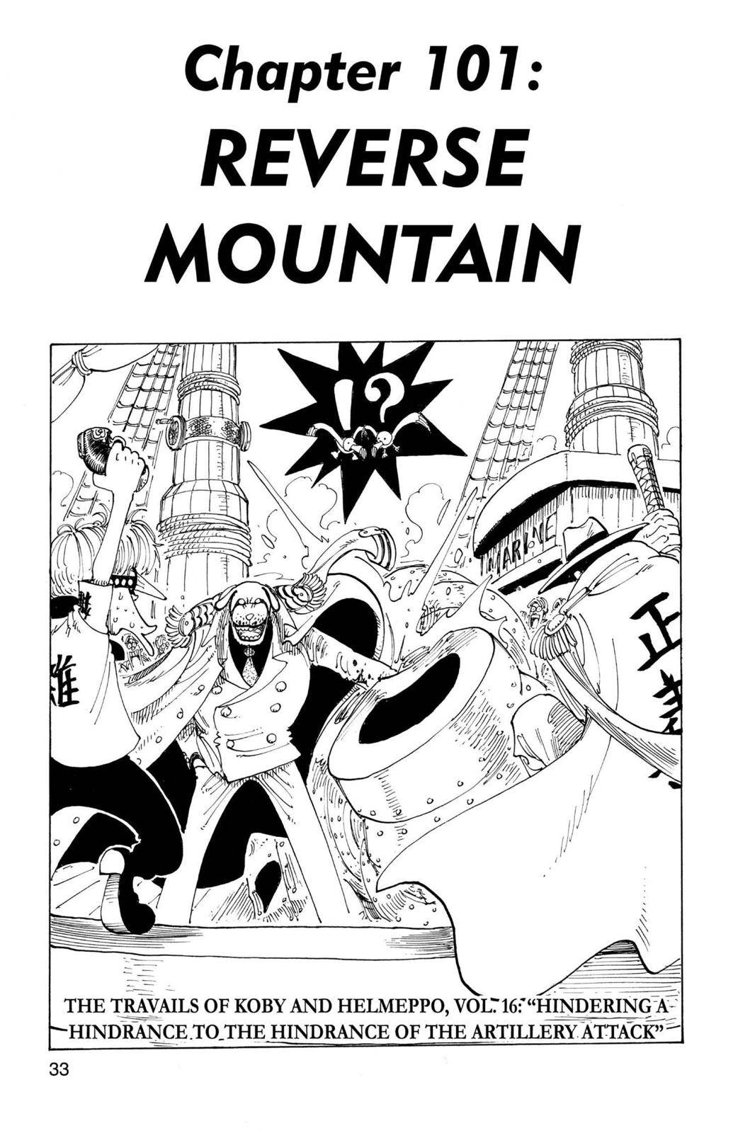 One Piece Chapter 101 Page 1