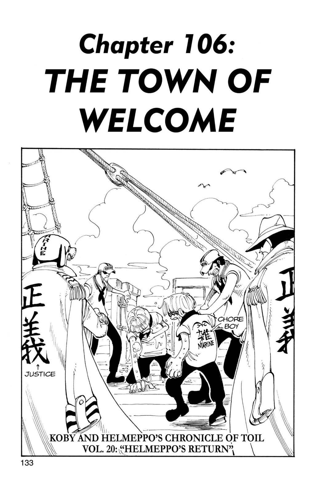One Piece Chapter 106 Page 1